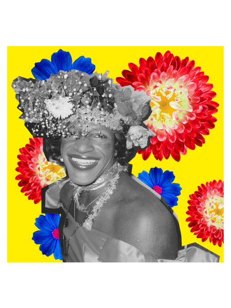 Marsha P Johnson Collage