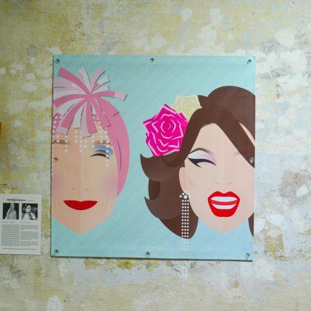 Lona NEOTRAVESTISMO - Madame Arthur y Paco España